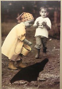 PRL-1992-BIMBA-BIMBI-CHILD-ENFANTS-VINTAGE-AFFICHE-PRINT-ART-POSTER-COLLECTION
