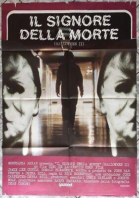 Non Halloween Posters (poster 2 sheet SIGNORE DELLA MORTE HALLOWEEN II Carpenter  Italy 1971)