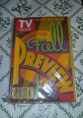 Tv Guide Fall Preview Special Issue Sept  12 18 1998 Northern California Listing