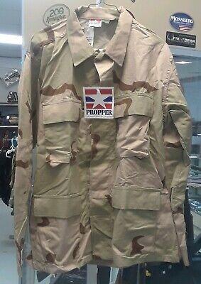 Brown Bdu Shirt (PROPPER BDU TACTICAL SHIRT/ COAT- BROWN CAMO - Medium Short -)