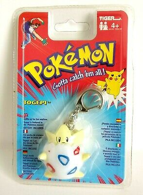 Pokemon Togepi Light-Up Keychain Tiger Electronics 1998/2000 - Rare