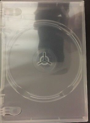 One New Clear Premium Single Disc Dvdcdvgpc Media Keep Case 14mm 12