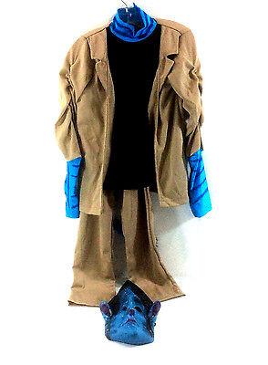 Avatar Jake Silly Halloween Costume 3 Piece Jacket Pants Mask Tail Boys Medium - Avatar Halloween