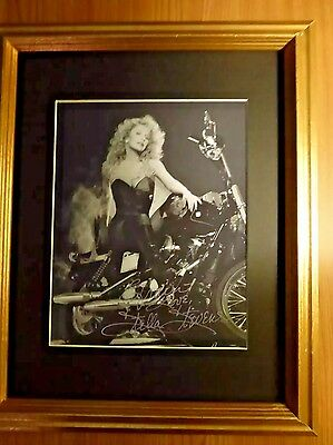 STELLA STEVENS VINTAGE SIGNED 8x10 AUTOGRAPHED  WITH COA
