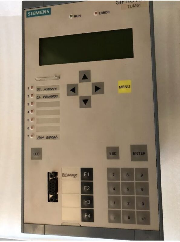 Siemens Siprotec 7UM61 Multifunction Generator / 7UM6115-2EB00-3Aa0/BB
