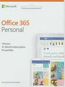 Microsoft Office 365 URGENT SALE Brand New Unopened package