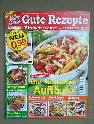 ause Gute Rezepte 2/2012 Aufläufe, Deftige Küche, Muttertag  (Muttertag Schriften)