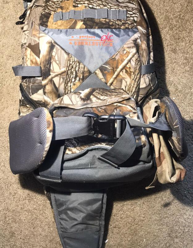 Eberlestock X Project EXC Waterproof Hunting Bow Rifle Backpack W/ Hardwood Camo