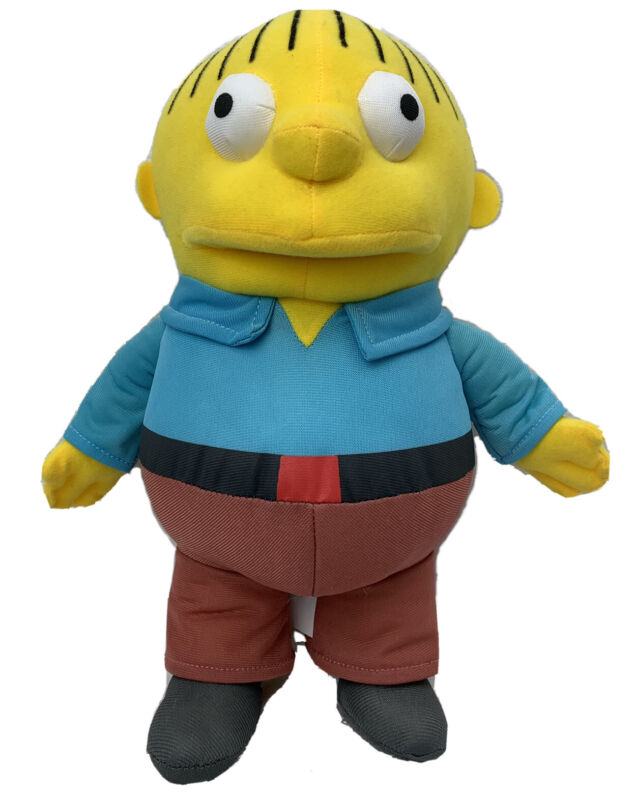 "The Simpsons Ralph Wiggum Plush 11"" Universal Studios Stuffed Toy Cartoon Doll"