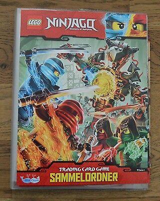 Lego® Ninjago™ Serie 2 Trading Card Game Sammelmappe Mappe Sammelordner