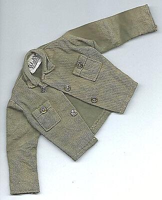 Vintage GI Joe Green Military Jacket For 12 Inch Figure Hasbro Hong Kong R for sale  Bronx