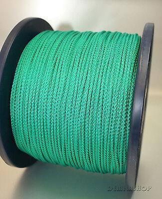 1 Rolle 200M Polypropylenseil PP-Seil geflochten Grün 3mm Neu&OVP