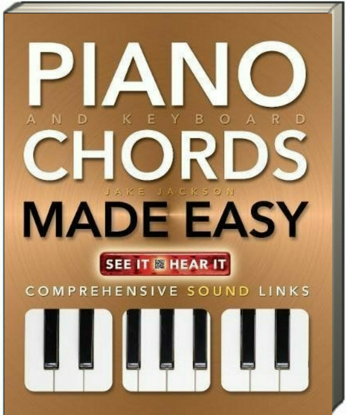 Piano and Keyboard Chords Made Easy by Jake Jackson  NEW
