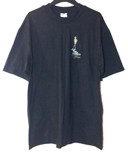 Hanes Beefy Adult PreShrunk Black Tina Turner Wildest Dreams Tour T Shirt XL