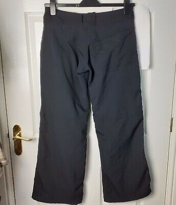 Nike Trousers Black Sports Running Gym UK Size 10 Fitory