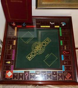Parker Brothers Franklin Mint Collectors Edition Monopoly Table South Windsor Hawkesbury Area Preview