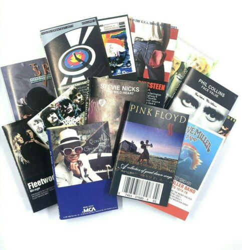 BUILD UR OWN Cassette Tapes Lot - Pink Floyd, Journey, Boston, Eagles + More!