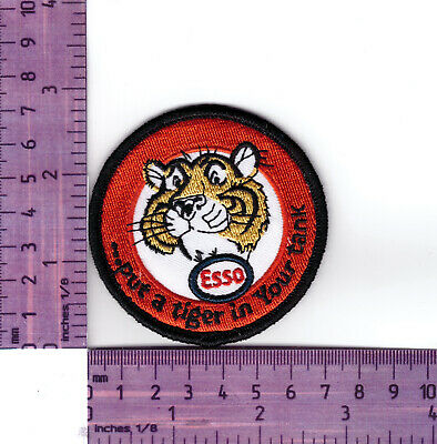 ESSO,Oil Company Put a Tiger in your Tank Quality  Embroidered Cloth