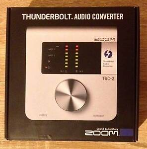 Zoom TAC-2 Thunderbolt Audio Interface Converter Southbank Melbourne City Preview