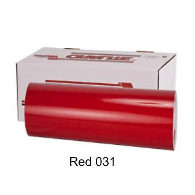 12 X 10 - Oracal 651 Vinyl - Permanent Outdoor - Red Gloss