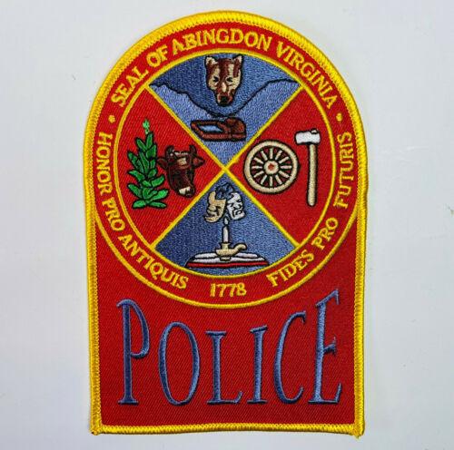 Abingdon Police Washington County Virginia VA Patch C4
