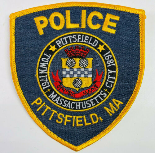Pittsfield Police Berkshire County Massachusetts MA Patch A3G