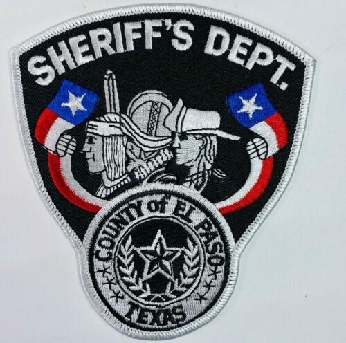 El Paso County Sheriff Texas TX Patch A8
