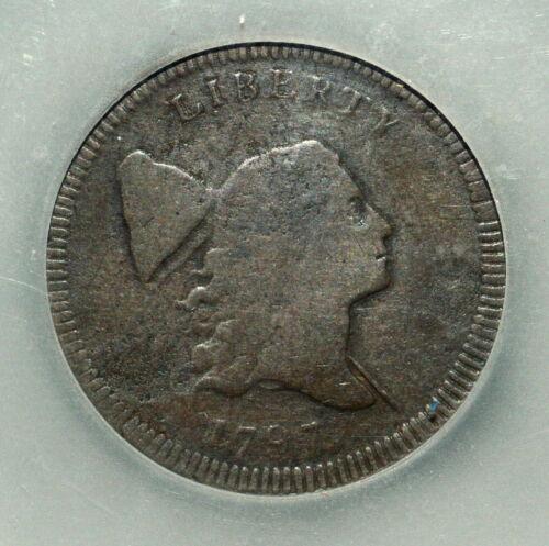 1797 LIBERTY CAP HALF CENT ✪ VF VERY FINE ✪ DOUBLE STRUCK STRIKE 1/2C ◢TRUSTED◣
