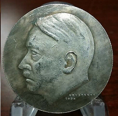 Adolf Hitler Third Reich Nazi coin Exonumia Coins WW2 WWII German Germany