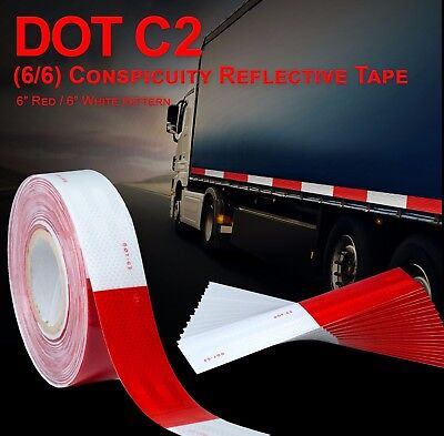 2 Dot-c2 Approved Reflective Tape Class 2 Truck Trailer Camper Safety Tape