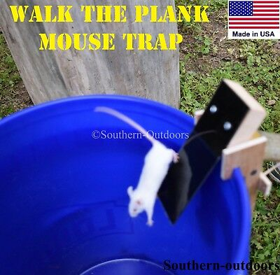 Original Walk The Plank Mouse Trap   Auto Reset   Usa Made