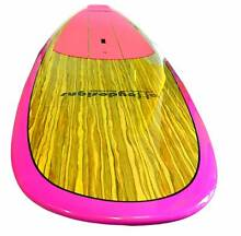 Stand up paddle board PINK/ TIMBER new by Alleydesigns Currumbin Waters Gold Coast South Preview
