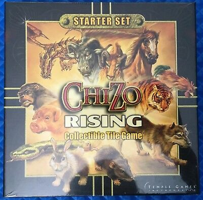 Chizo Rising Collectible Tile Game Starter Set by Temple Games New & Sealed