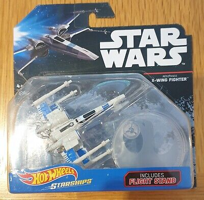 "Hot Wheels Star Wars Starships ""BLACK CARD"" Series - Resistance X-Wing Fighter"