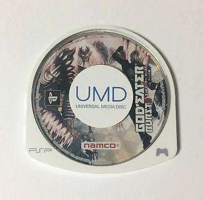 USED PSP Disc Only GOD EATER BURST Append Version JAPAN PlayStation Portable