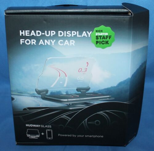HUDWAY Glass Universal Head-Up Display HUD For Any Car