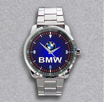 Best Reloj ! BMW Logo Wristwatches Sport Metal Watch Best Luxury