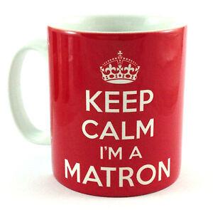 NEW-KEEP-CALM-IM-A-MATRON-GIFT-MUG-CUP-AND-CARRY-ON-COOL-BRITANNIA-RETRO-NURSE