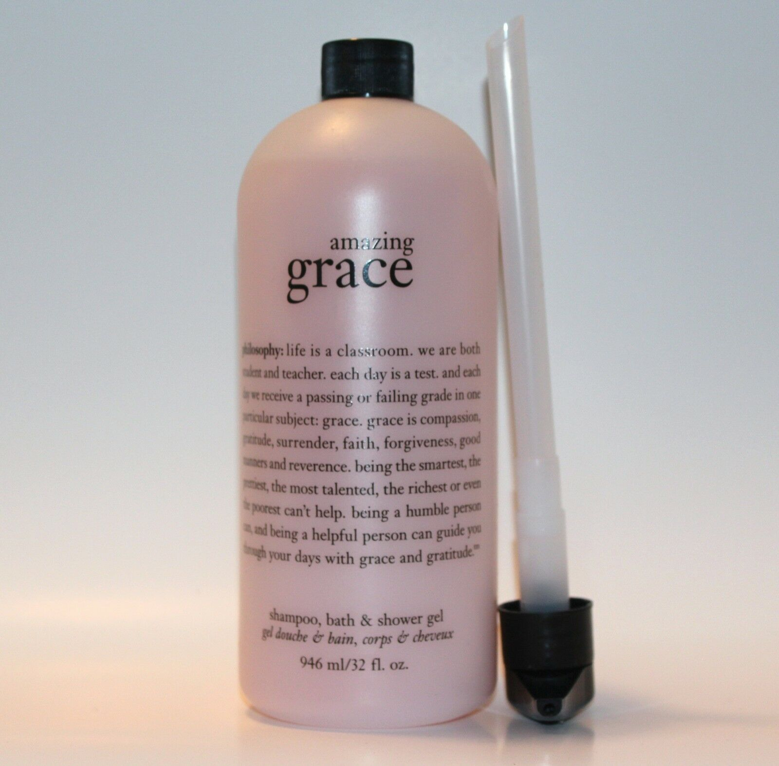philosophy shower gel philosophy shower gel philosophy amazing grace shampoo bath shower gel 32 oz new with pump
