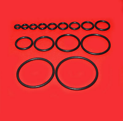 O-Ringe Dichtringe Dichtungsringe 4 - 10 mm / Schnurstärke 1 - 4 mm / NBR 70