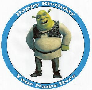 Shrek Cake Toppers Ebay