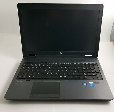 HP ZBook 15 G2 Intel i7 16GB RAM 256GB SSD Full HD Deutsche Tastatur