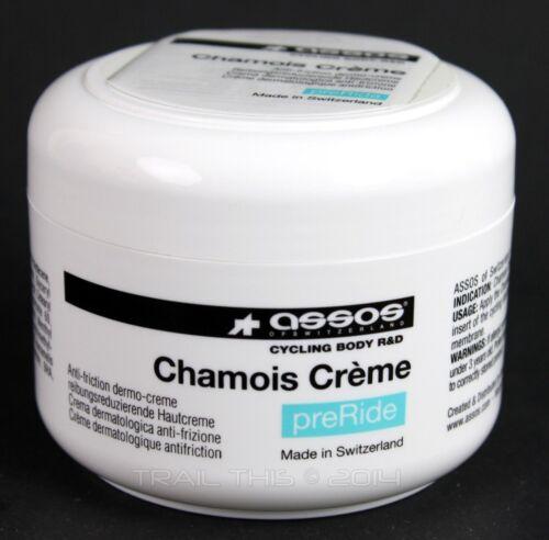 Assos PreRide Chamois Anti-Friction Creme Cream Cycling 140ml Tub