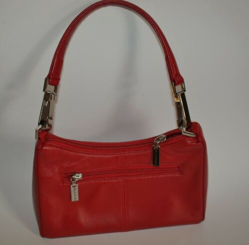 Vintage Wilson Leather Pelle Studio Red Purse Handbag Shoulder Bag