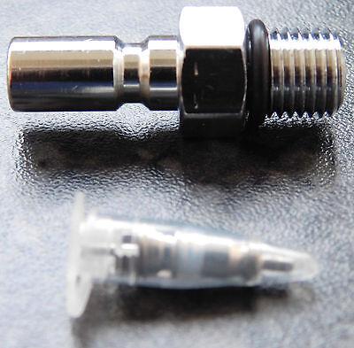 Inflator-Nippel & Ventil (für Jacket & Trockiventil geeignet)
