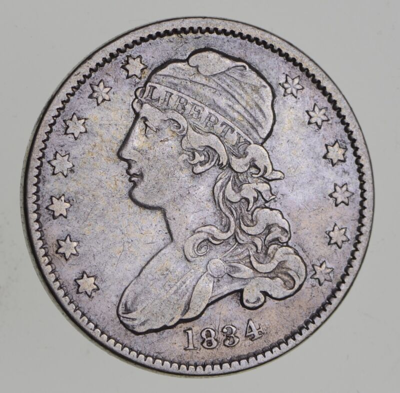 1834 Capped Bust Quarter - Circulated *7665