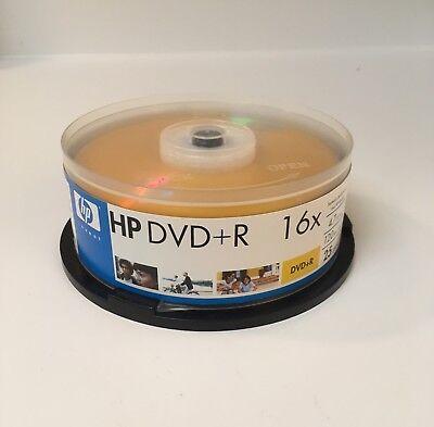 HP Hewlett Packard DVD-R 16x 25 Pack Value 4.7GB 120 Min  - Hewlett Packard Value Pack