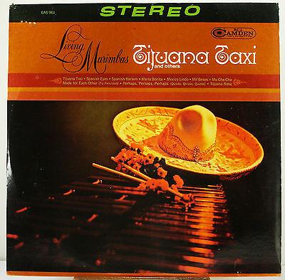 12  33 Rpm Stereo Lp   Rca Camden Cas 961   Living Marimbas  Tijuana Taxi  1966