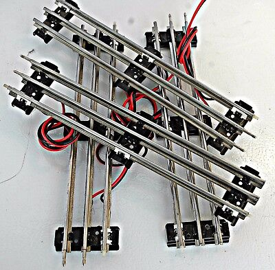 Lionel O gauge insulated straight tracks 4 pieces.