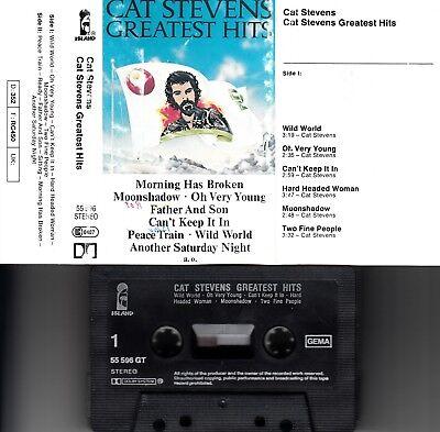 CAT STEVENS - Greatest Hits > MC Musikkassette ,Island